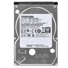 500GB Toshiba 2.5-inch SATA laptop hard drive (5400rpm, 8MB cache)